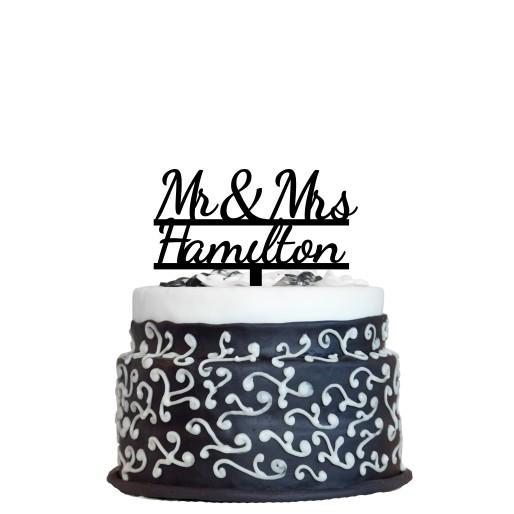 Wedding Cake Topper Design 5