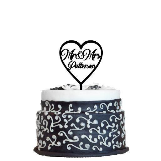 Wedding Cake Topper Design 6