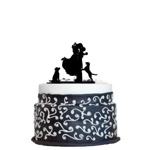 Wedding Cake Topper Design 8