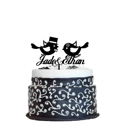 Wedding Cake Topper Design 11