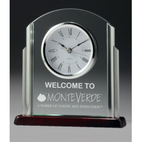 Deco Glass Clock Award 190mm – CG519
