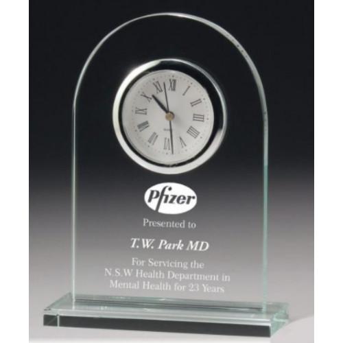 Executive Glass Clock Award 165mm – CL1511