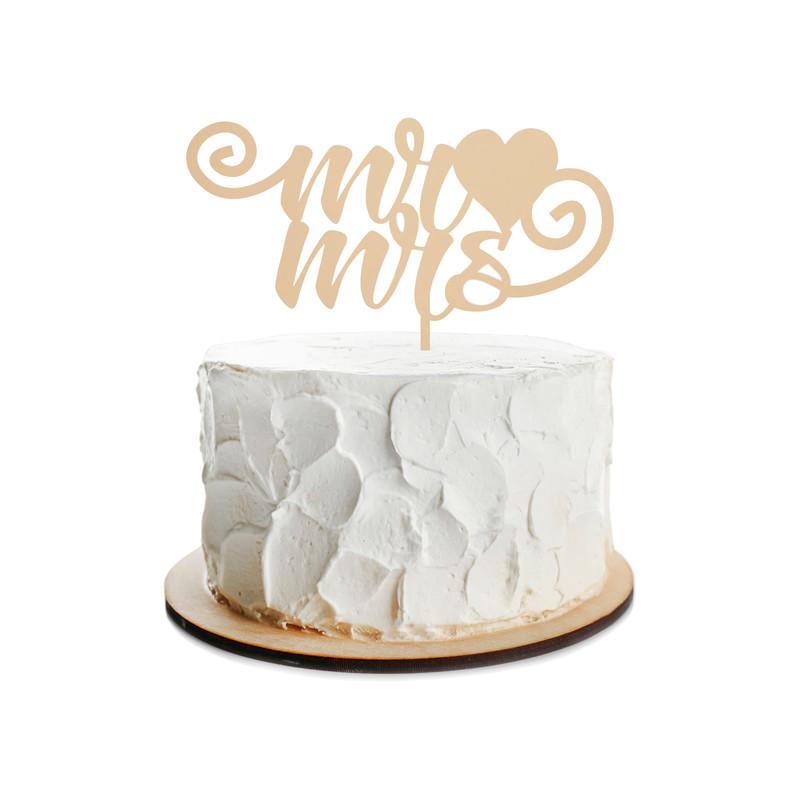 Wedding Cake Topper Design 3