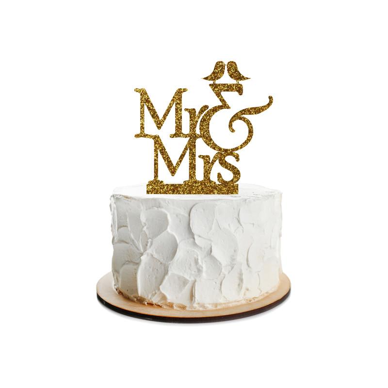 Wedding Cake Topper Design 9