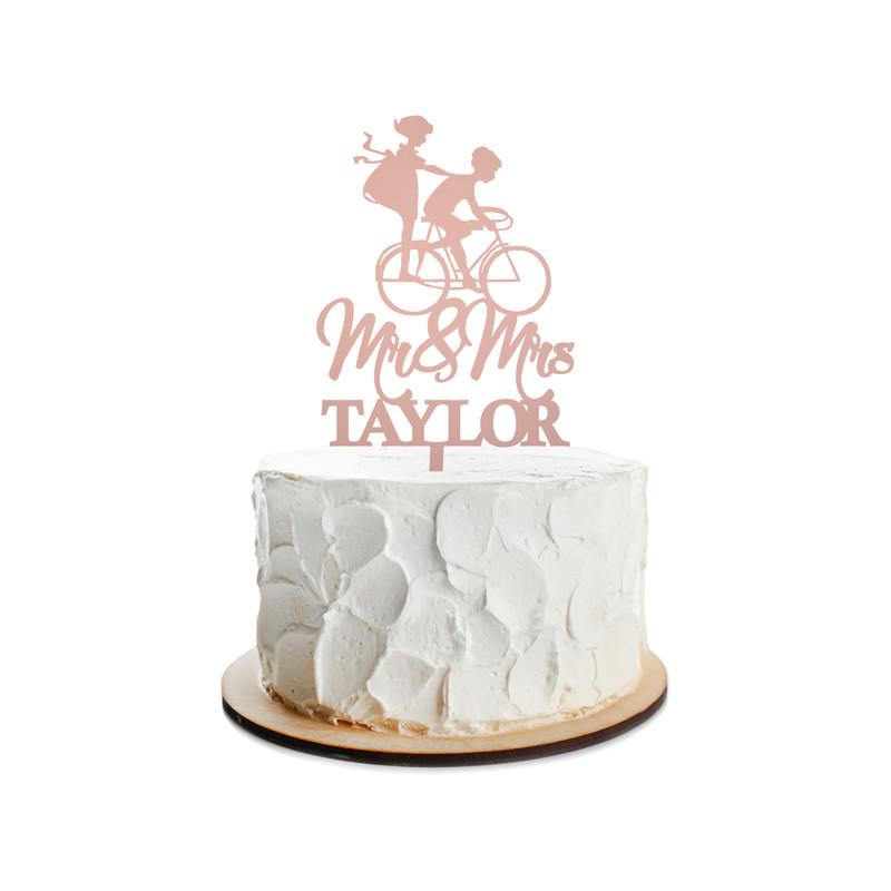 Wedding Cake Topper Design 10