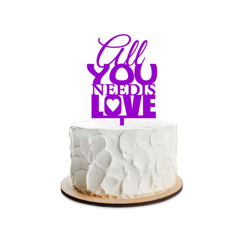 Wedding Cake Topper Design 12