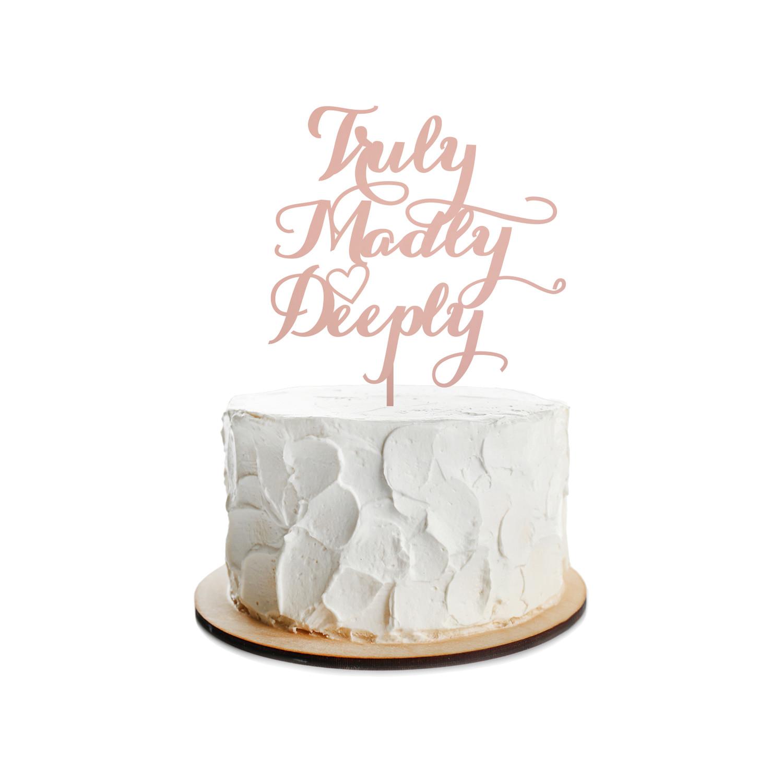 Wedding Cake Topper Design 1