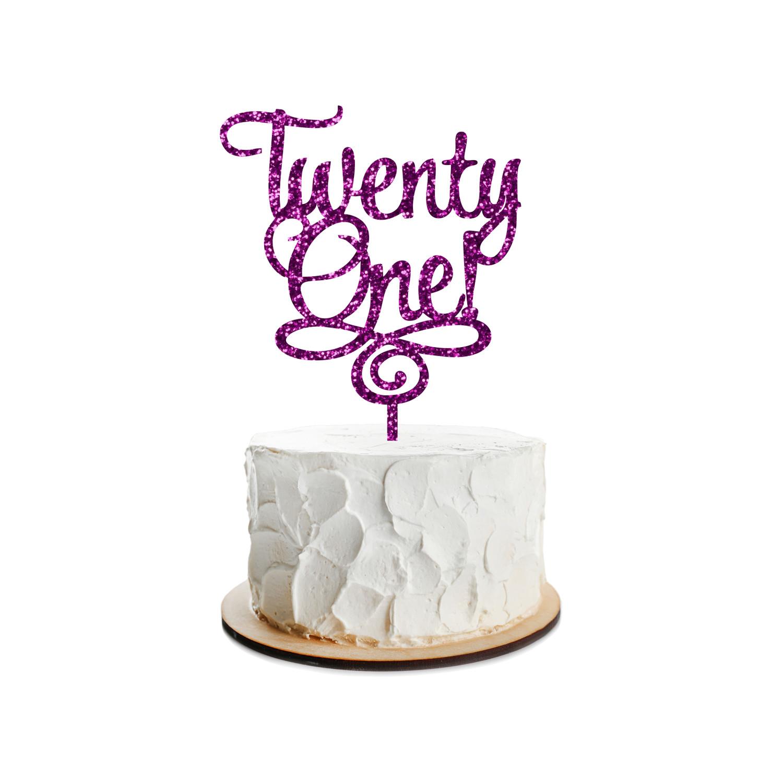 Birthday Cake Topper Design 2