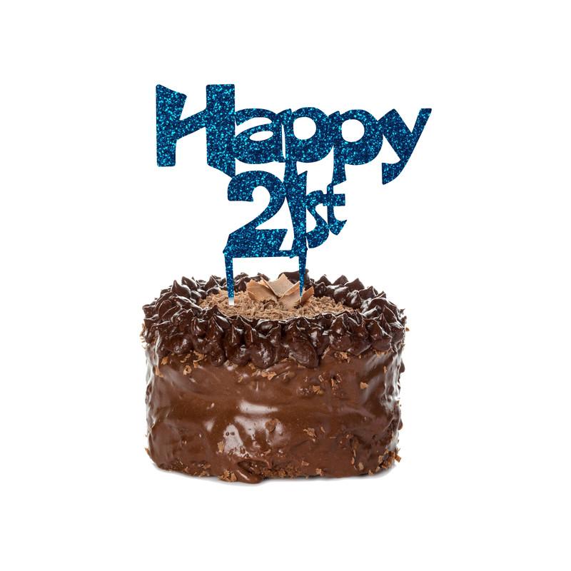 Birthday Cake Topper Design 3