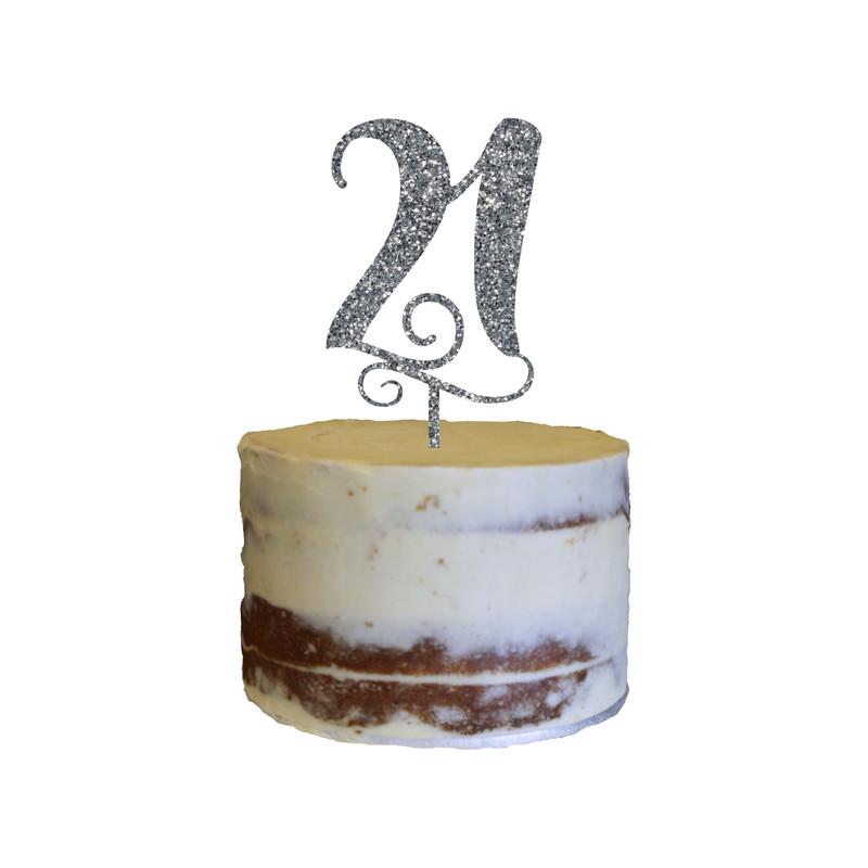 Birthday Cake Topper Design 4