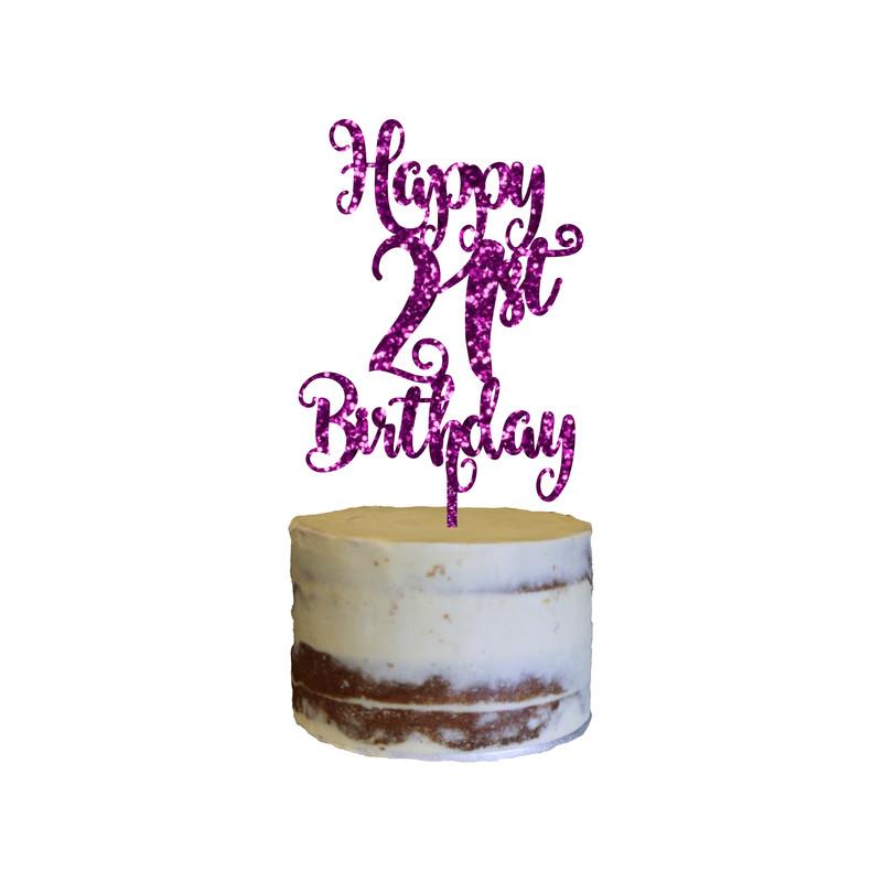 Birthday Cake Topper Design 6