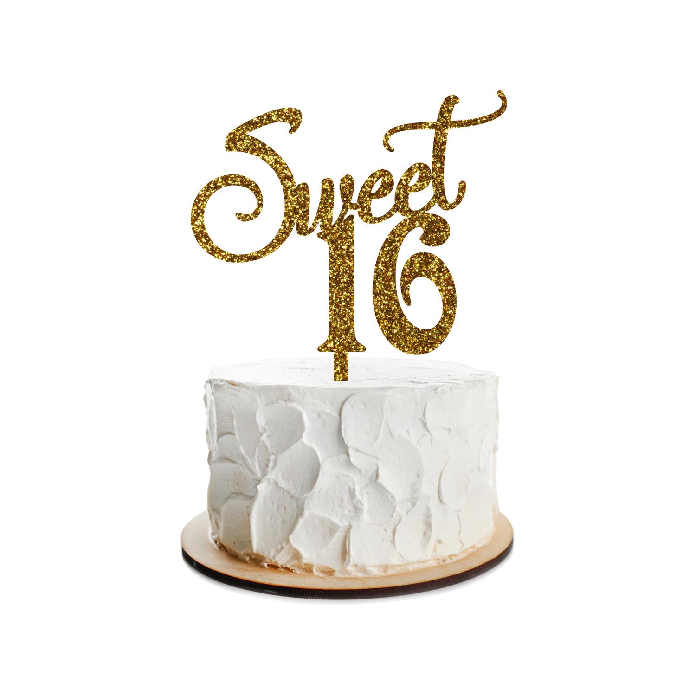 Birthday Cake Topper Design 9