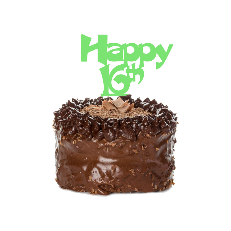 Birthday Cake Topper Design 11