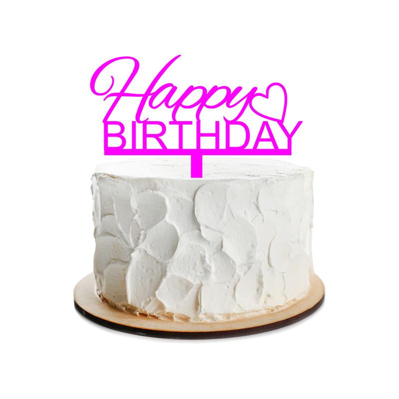 Birthday Cake Topper Design 12