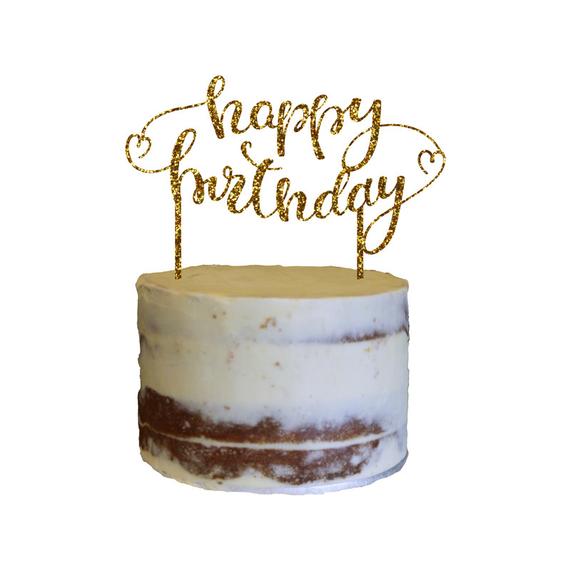 Birthday Cake Topper Design 13
