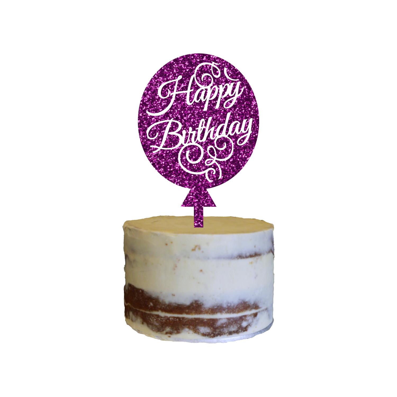 Birthday Cake Topper Balloon Design 14