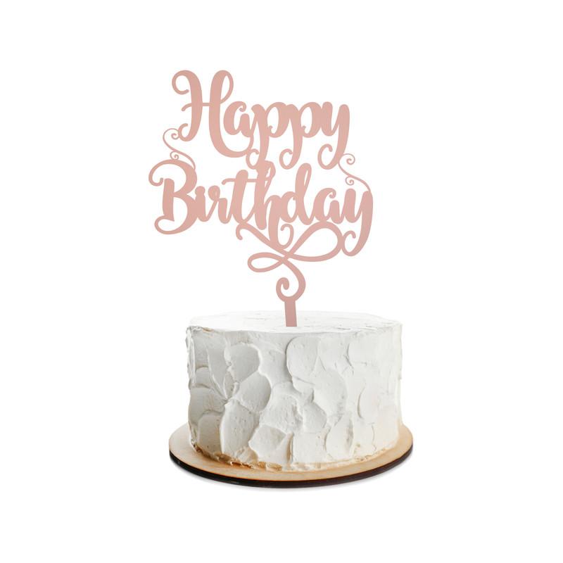 Birthday Cake Topper Design 16