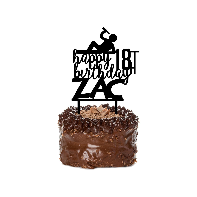 Birthday Cake Topper Design 18