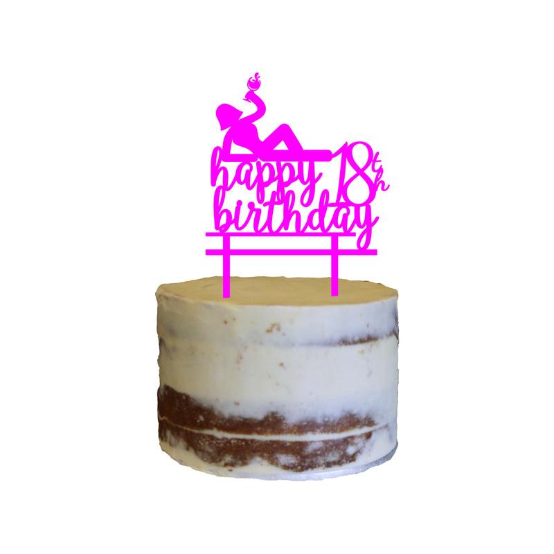 Birthday Cake Topper Design 19