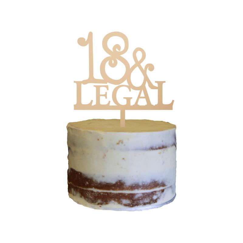 Birthday Cake Topper Design 21
