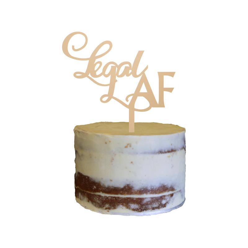 Birthday Cake Topper Design 23