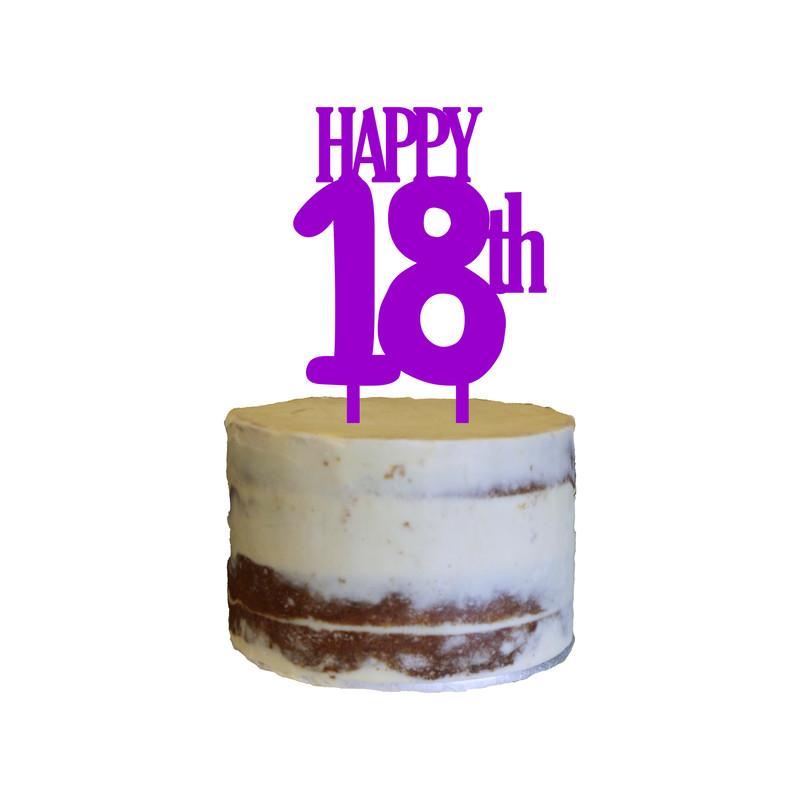 Birthday Cake Topper Design 26