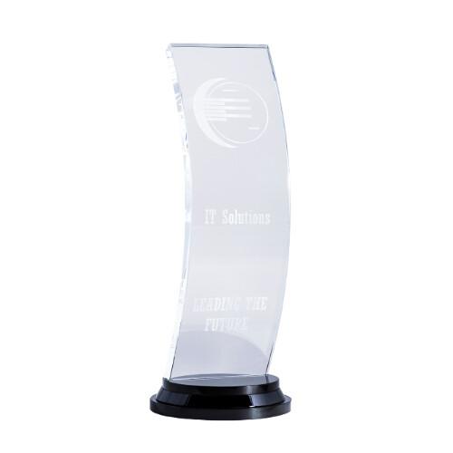 Crystal Curve Trophy - BM04A, BM04B & BM04C