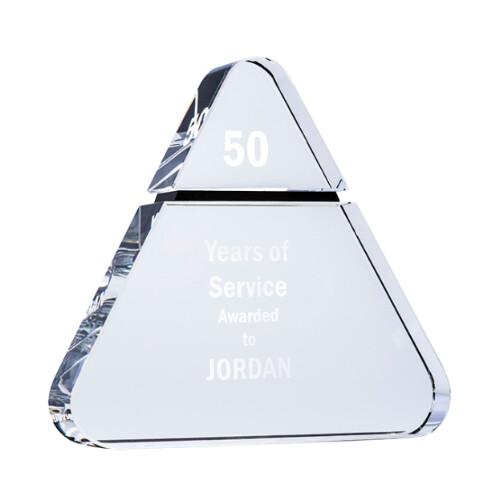 Crystal Triangle Trophy - BM01A, BM01B & BM01C