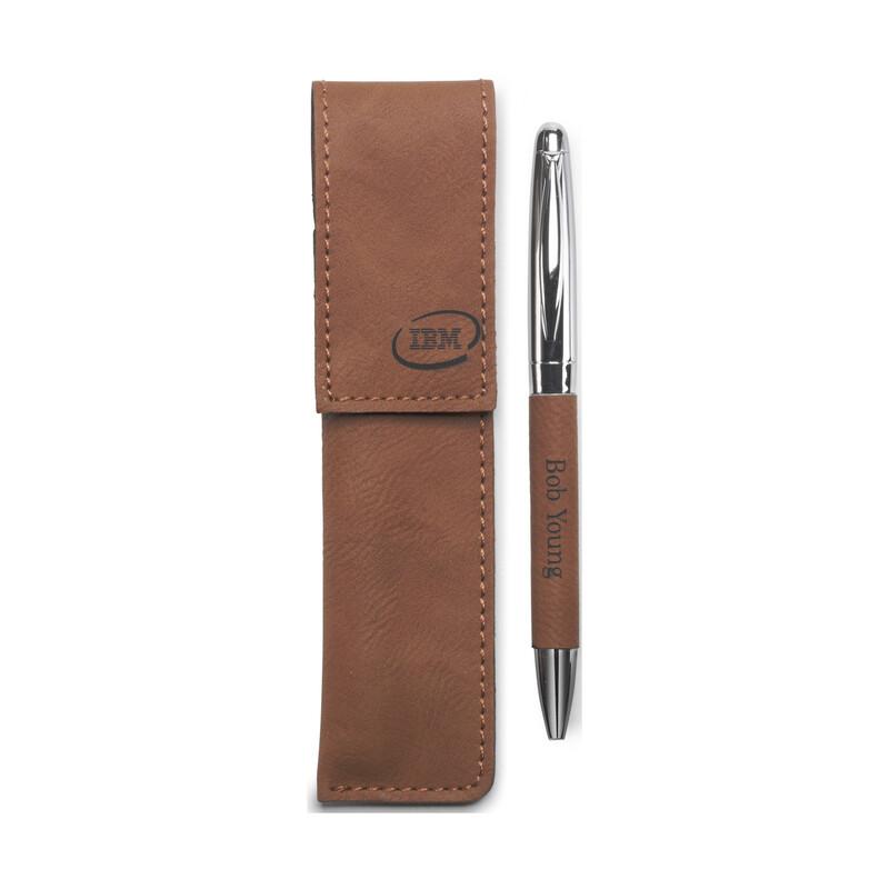 Leatherette Pen Set LE411
