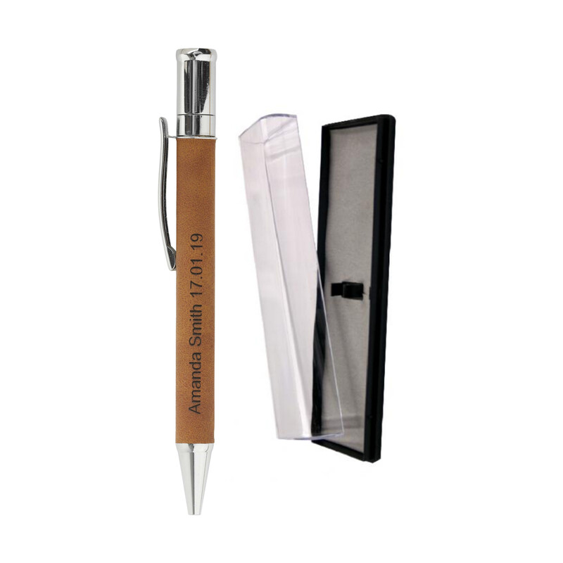 Leatherette Pen and Case LEP01