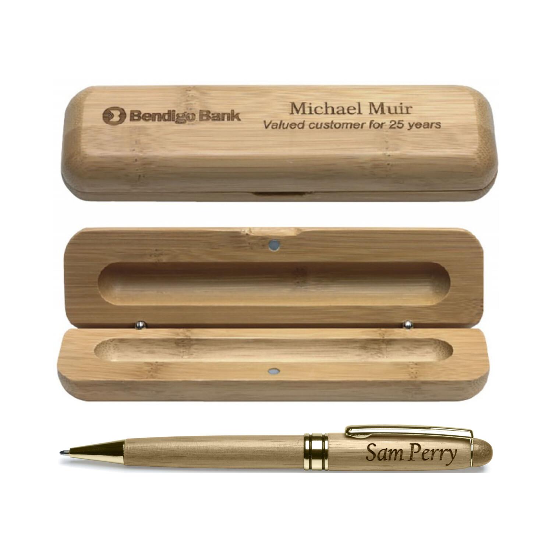 Bamboo Pen Box Set PEB01