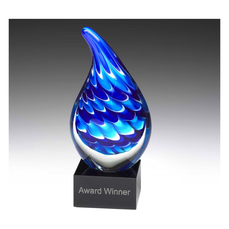 Art Glass Blue Dream AG303