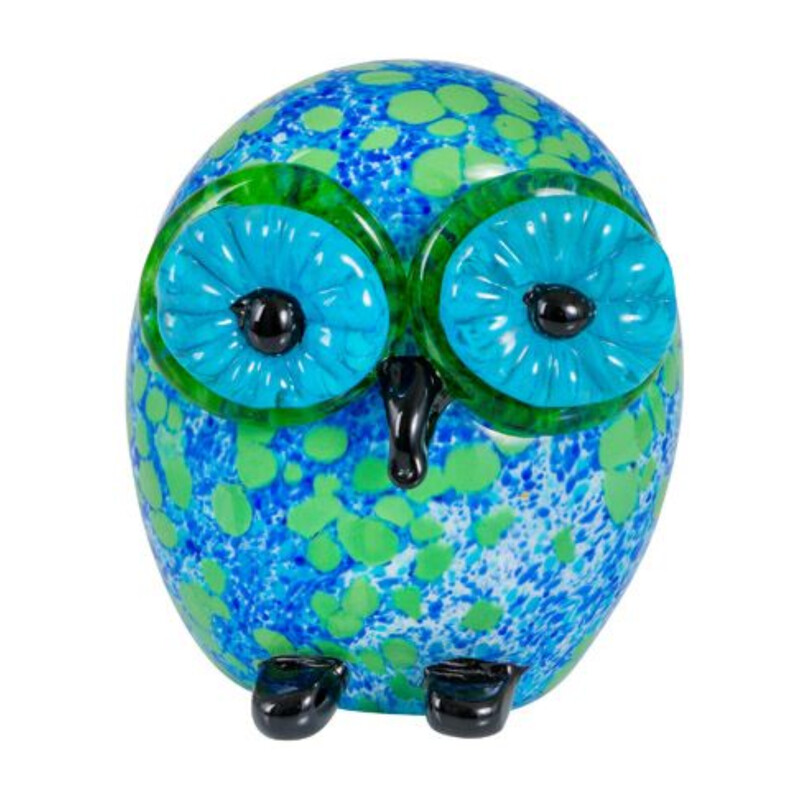 Hibou Owl Art Sculpture by Zibo