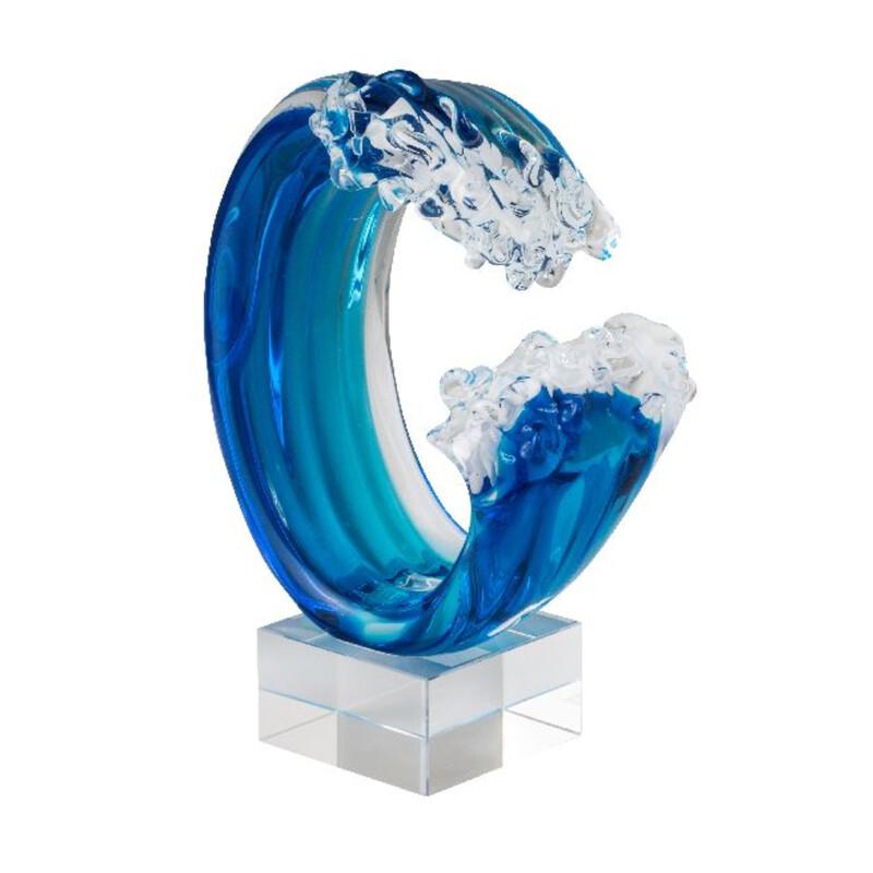 Hokusai Wave  Art Sculpture