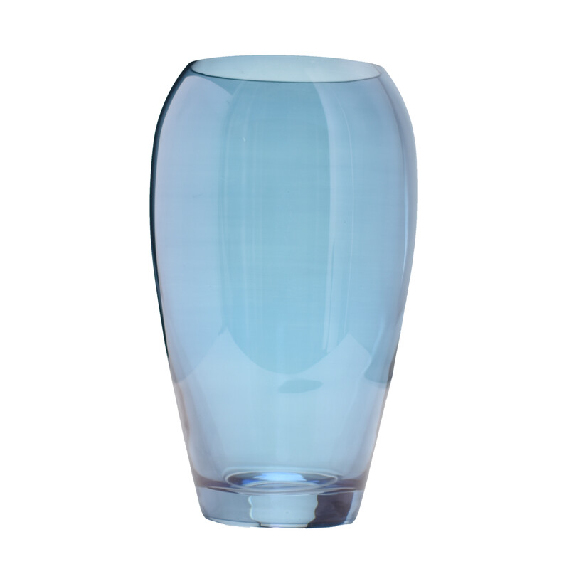 Jewel Sapphire Glass Vase