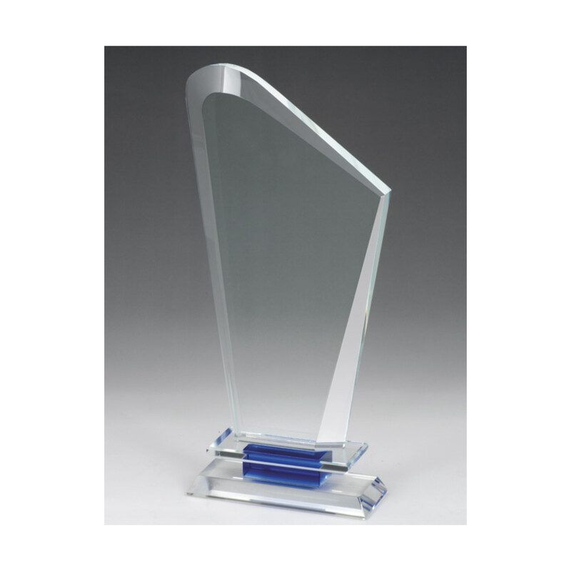 Clear Crystal with Blue Trim - OEO40A, OEO40B, OEO40C