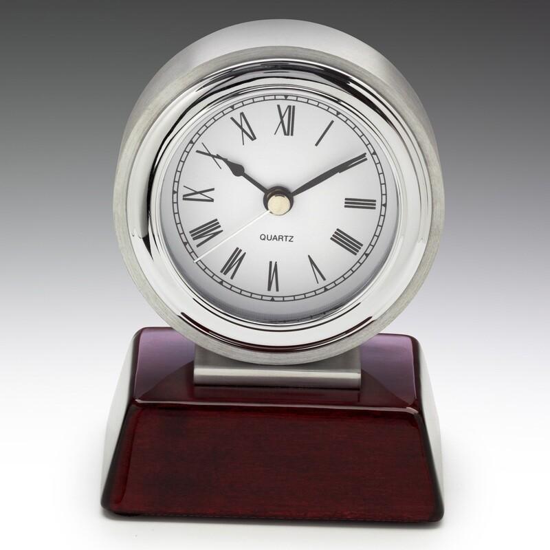 Atlas Chrome Clock Award 290mm – CL125