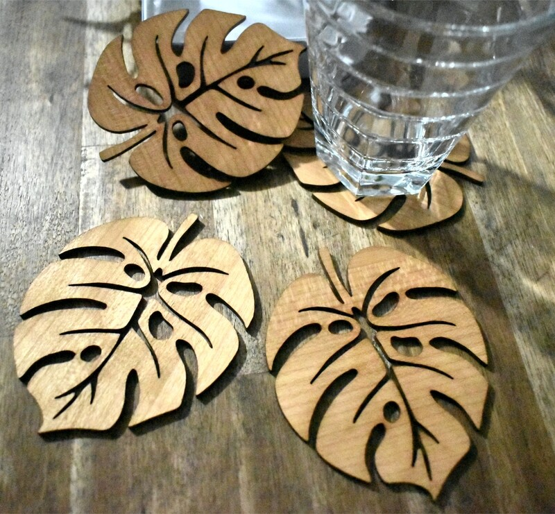 Monsteria Timber Coasters