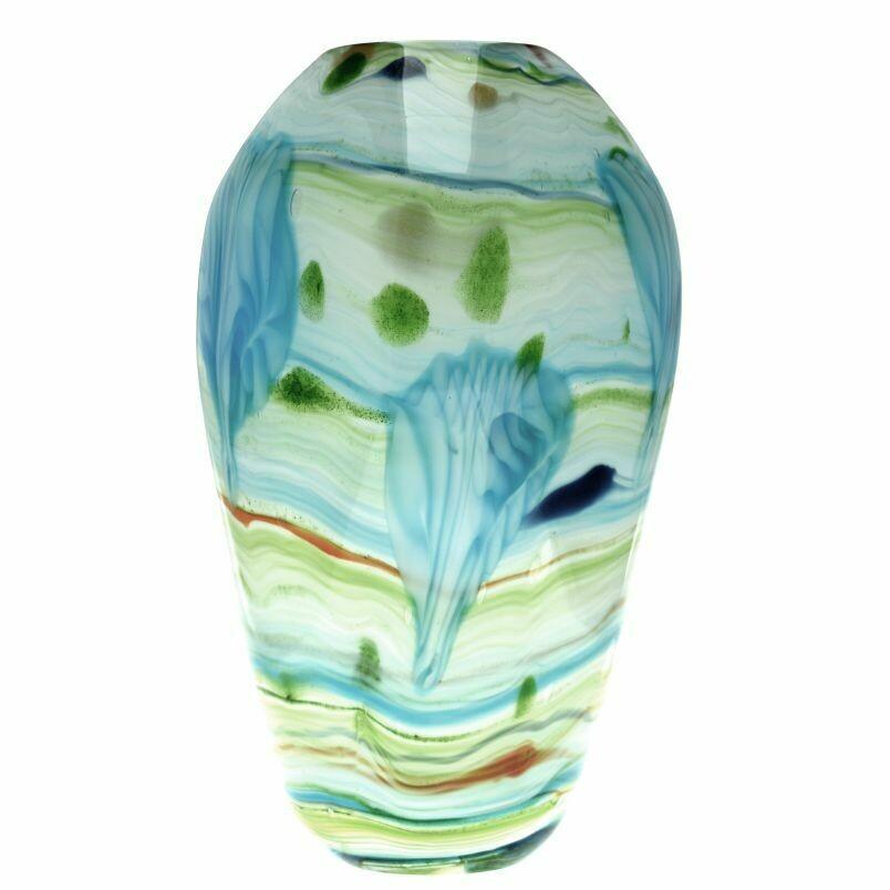 Coloured Glass Fedelta Vase by Zibo
