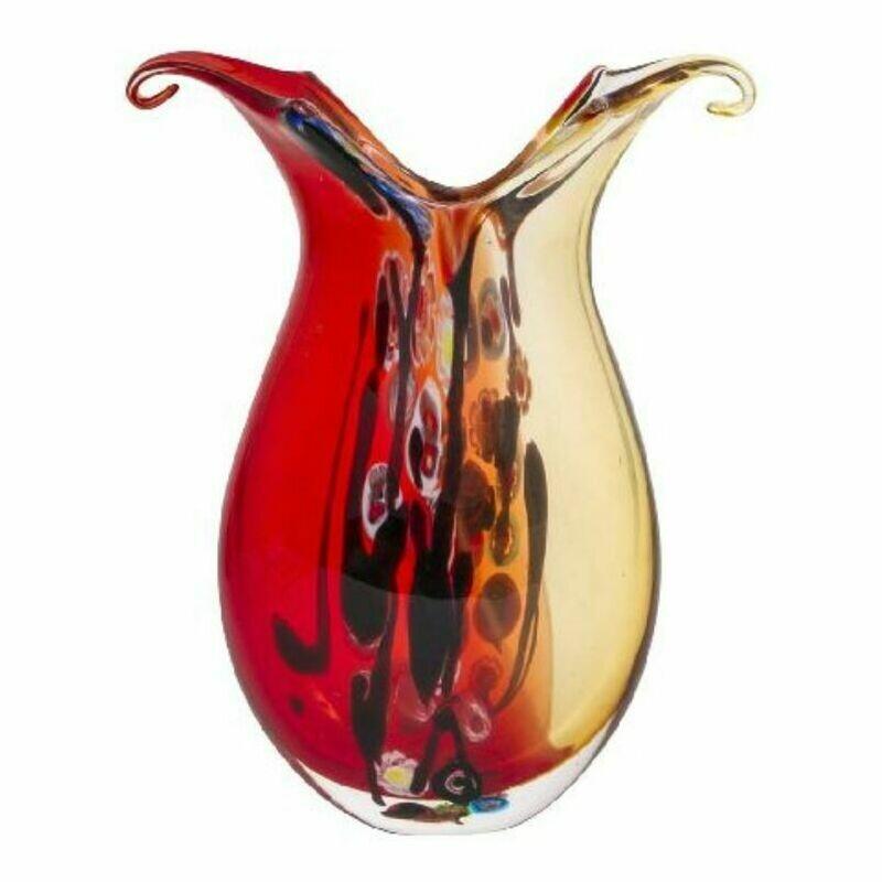 Coloured Glass Rialto Vase by Zibo