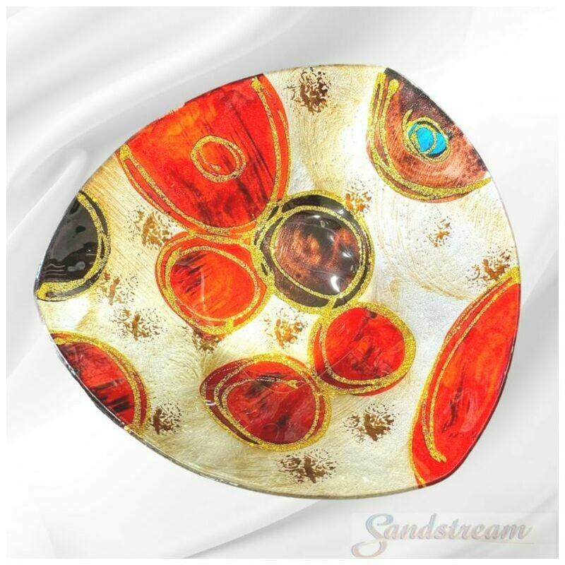 Circles Glass Plate