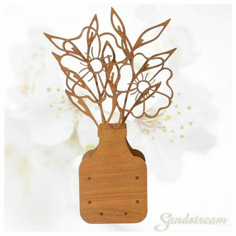 3mm Timber Flower Box