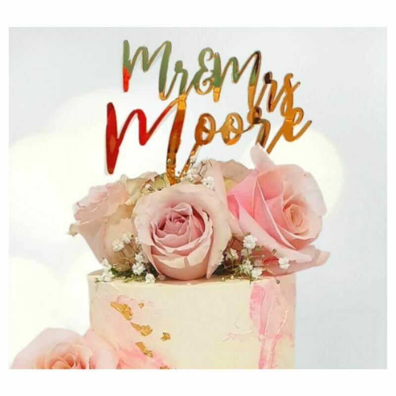 Wedding Cake Topper Design 16