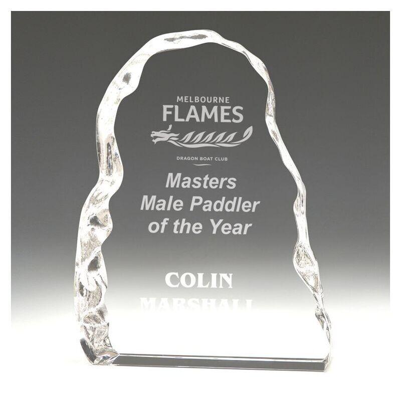 Crystal Iceberg Trophy – CC329S, CC329M & CC329L