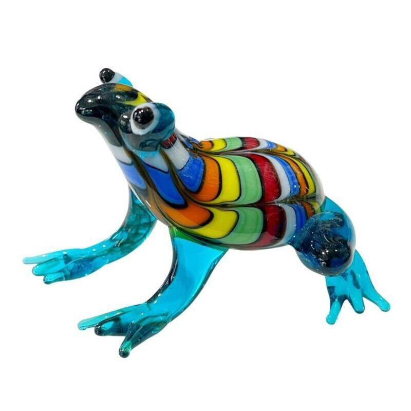 Multicoloured Frog