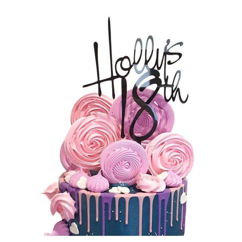 Birthday Cake Topper Design 27