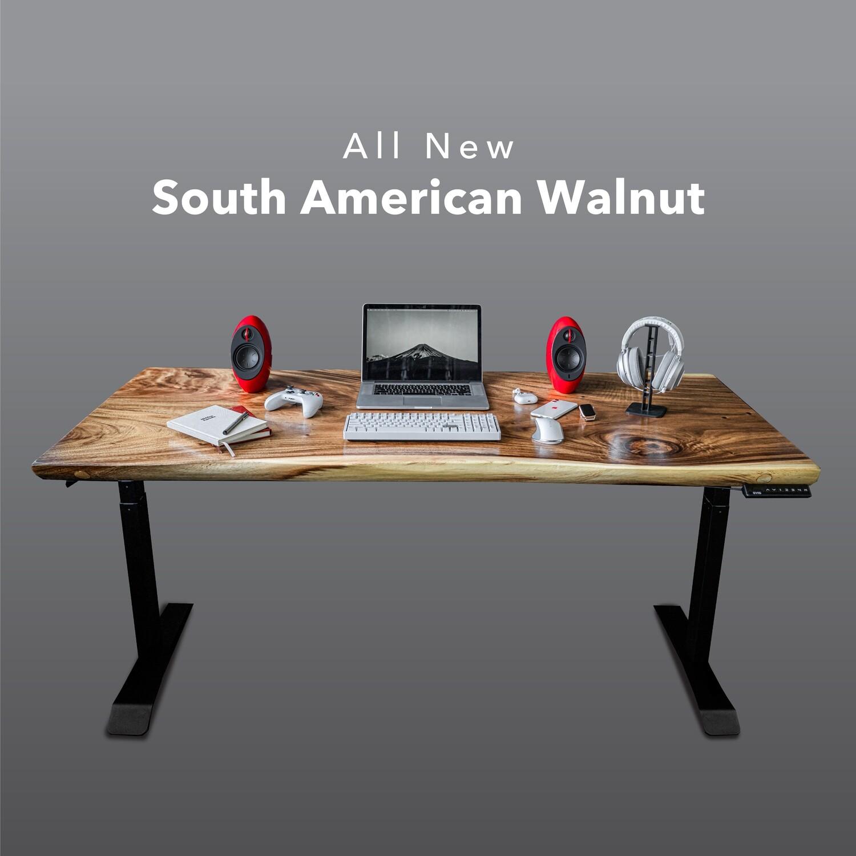 [PRE-ORDER] Smart Desk - South American Walnut
