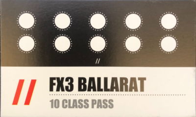 FX3 10 CLASS PASS