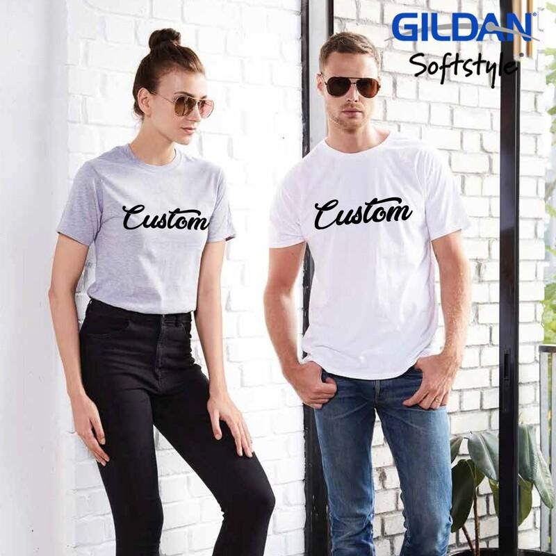 GILDAN SOFTSTYLE 63000 Adult T-Shirt DTG Print