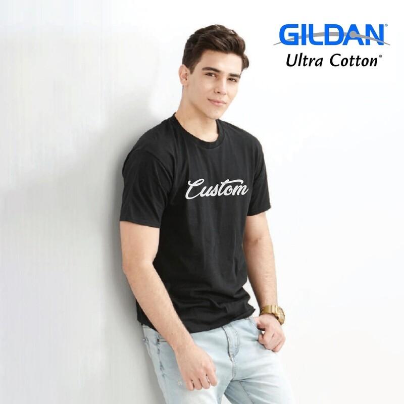 GILDAN ULTRA COTTON 2000 Adult T-shirt DTG Print